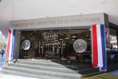 Registro de Automotores no se adhiere a huelga