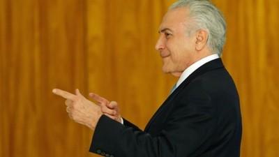 Juez ordenó liberar al expresidente brasileño Michel Temer