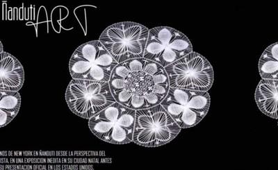 Estrenarán exposición obras de arte de ñanduti en Ciudad del Este