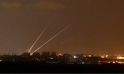 Alerta en Israel: Interceptan una ráfaga de cohetes lanzados desde Gaza