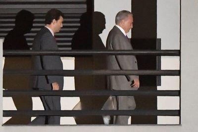 Juez libera al ex presidente brasileño Michel Temer