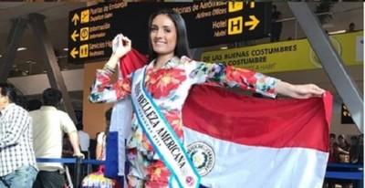 Paraguaya logra el título de Miss Belleza Americana