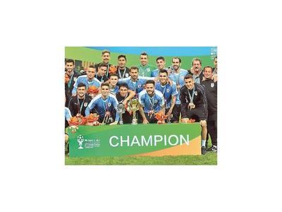 Uruguay goleó y se consagró en China