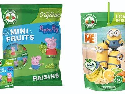 Personajes infantiles atraen más a padres al comprar alimentos