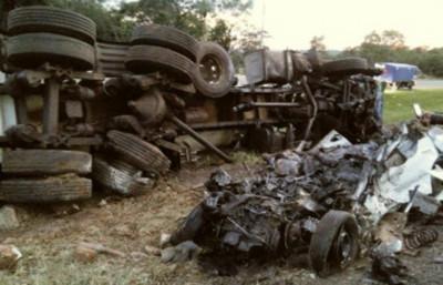 Accidente de tránsito deja dos muertos en Cordillera