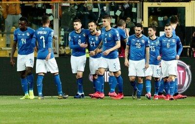 Paliza de Italia a Liechtenstein