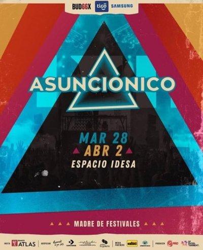 Asunciónico, el festival más importante, está listo para vibrar con buena música
