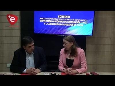 ABOGADOS DE ITAPÚA FIRMAN ACUERDO CON LA UNAE
