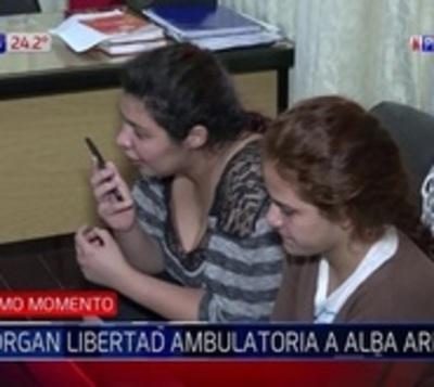 Liberan a Alba Armoa, procesada por el caso quíntuple homicidio