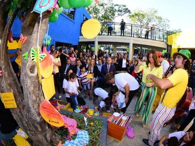 Centro de Atención Integral a la Niñez y la Adolescencia fue inaugurado en el Abasto
