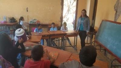 La escuela de Chaco'i se traslada a un precario local