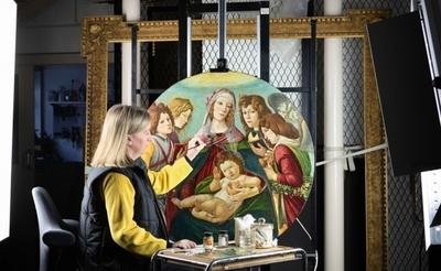 Descubren otra pintura original de Botticelli