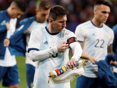 Messi destaca la 'fortuna' que tuvo España contra Paraguay en el 2010