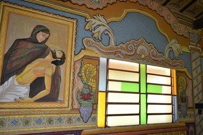 Retablo de los santos este año en Tañarandy