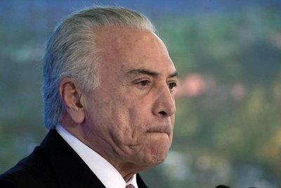 Fiscalía de Brasil pide dos nuevos juicios contra Temer