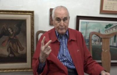 El presidente de la Constituyente de 1992 murió a los 89 años