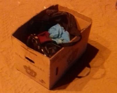 Abandonan restos de recién nacido en caja de cartón en Cateura