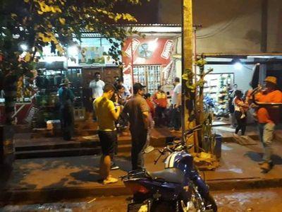 Mayor Otaí±o  Itapua: Dos asaltantes heridos tras reacción rápida de un efectivo policial