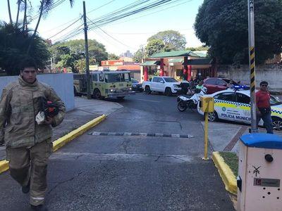 Aclaran que no se produjo incendio en municipalidad de Asunción