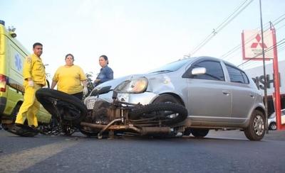 HOY / Paraguay es uno de los países con mayor cantidad de muertes por accidentes en moto