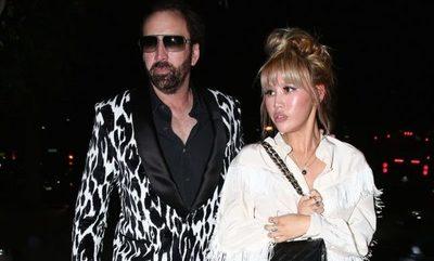 Nicolas Cage pidió el divorcio cuatro días después de casarse