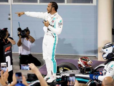 Lewis Hamilton gana el Gran Premio de Baréin