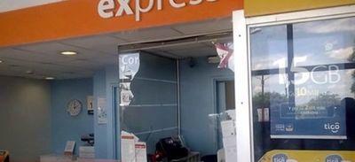 Asalto a sucursal bancaria en Luque
