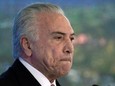 Fiscalía de Brasil pide a la Justicia volver a ordenar el arresto de Temer