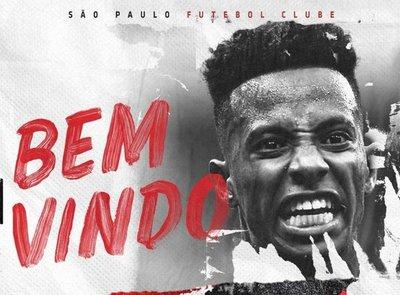Tchê Tchê ficha por el São Paulo