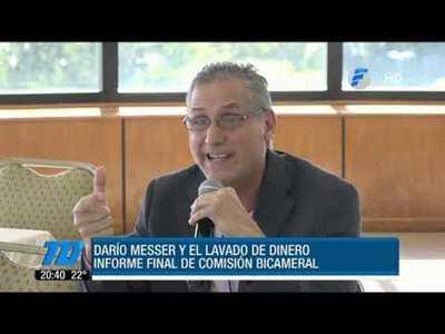 Informe sobre Darío Messer y lavado de dinero