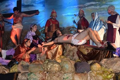Preparan Vía Crucis en Luque