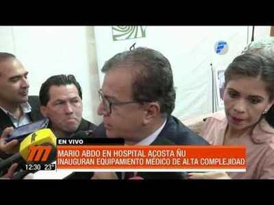 Nuevos equipos médicos en el Hospital Acosta Ñu