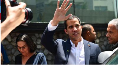 Sacan inmunidad parlamentaria a Juan Guaidó