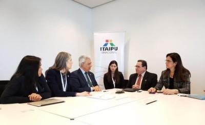 Oficina de Cambio Climático de la ONU aboga por alianza con Itaipu
