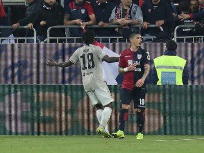 El fútbol europeo arropa a Moise Kean tras nuevo caso de racismo en Cagliari
