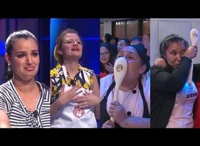 """Emotiva primera emisión de """"MasterChef Paraguay 3"""""""