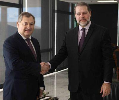 Brasil: Presidente de la CSJ se reunió con titular del STF