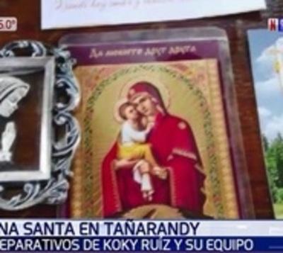 Tañarandy: Koki Ruiz recibirá a fieles con retablo de santos