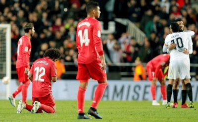 Primera derrota de Zidane