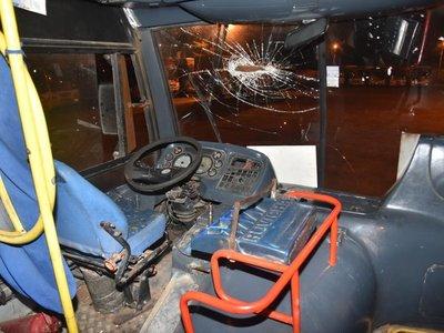 Conflicto entre líneas de transporte deja un chofer herido en Capiatá