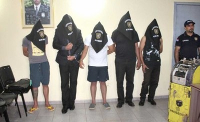Imputan y piden prisión para cinco detenidos hurto asalto a pollería