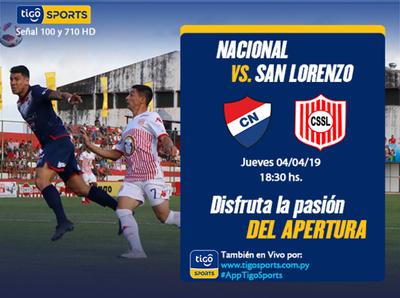 Nacional y San Lorenzo, por volver a la victoria