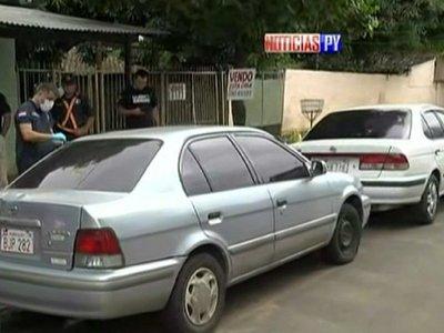 Hallan vehículo utilizado para asaltar boca de cobranza en Luque