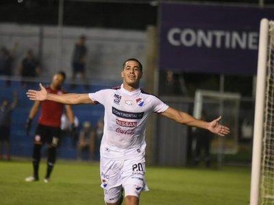 Nacional se ilumina en la Visera y vence a San Lorenzo