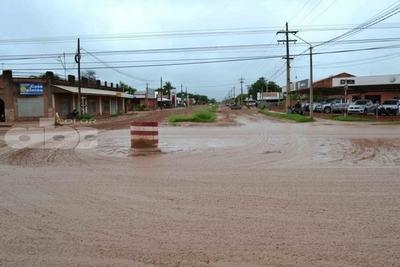 Lluvias complican la vida en el Chaco