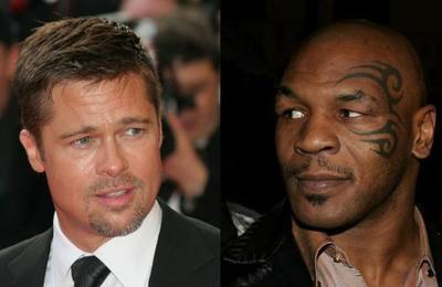 'Me suplicaba que no le pegara': el día en que Mike Tyson aseguró que sorprendió a Brad Pitt con su mujer