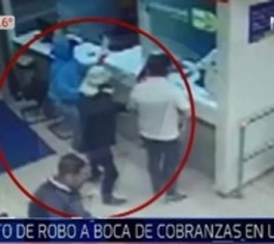 Nuevamente intentan asaltar sucursal bancaria en Luque