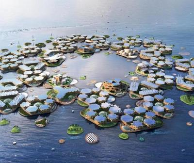 Proponen ciudades flotantes ante el cambio climático