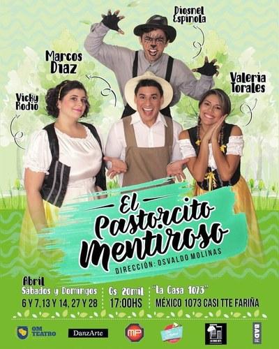 """""""El Pastorcito Mentiroso"""" aguarda a todos los niños con cinco funciones más este abril"""