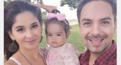 La Hija De Mariela Bogado Y Fernando Eid Cumplió Su Primer Añito